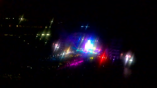 Michael Bublé & Naturally 7 performing Daft Punk's Get Lucky (Part 1)  @ Cape Town Stadium, March 2015