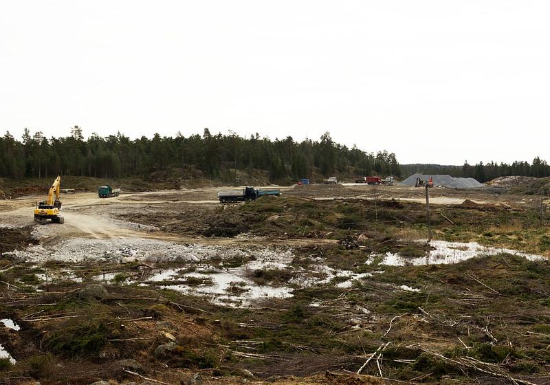 New quarry