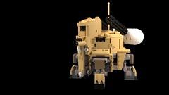 """M8B Henderson """"Llama"""" USMC Ambulatory Vehicle"""