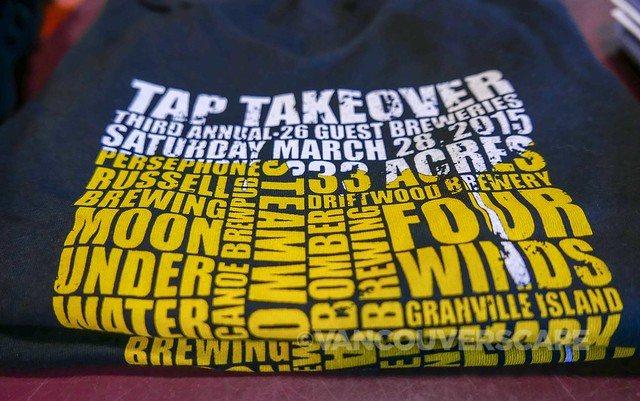 2015 Howe Sound Brewery Tap Takeover-6