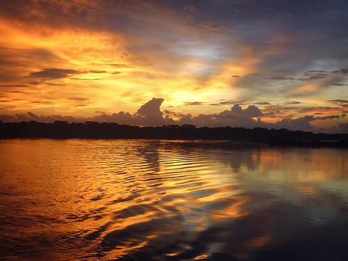 sunset naturaleza río river landscape atardecer photography ecuador barco natural paisaje perú land midi fin scape napo forêt amazonas fleuve sudamerica fotografía daprès