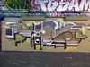 Piano graffiti, Leake Street