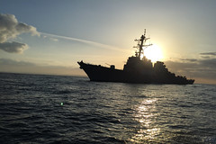 USS Russell (DDG 59) file photo. (U.S. Navy/Lt. j.g. Tommy Rose)
