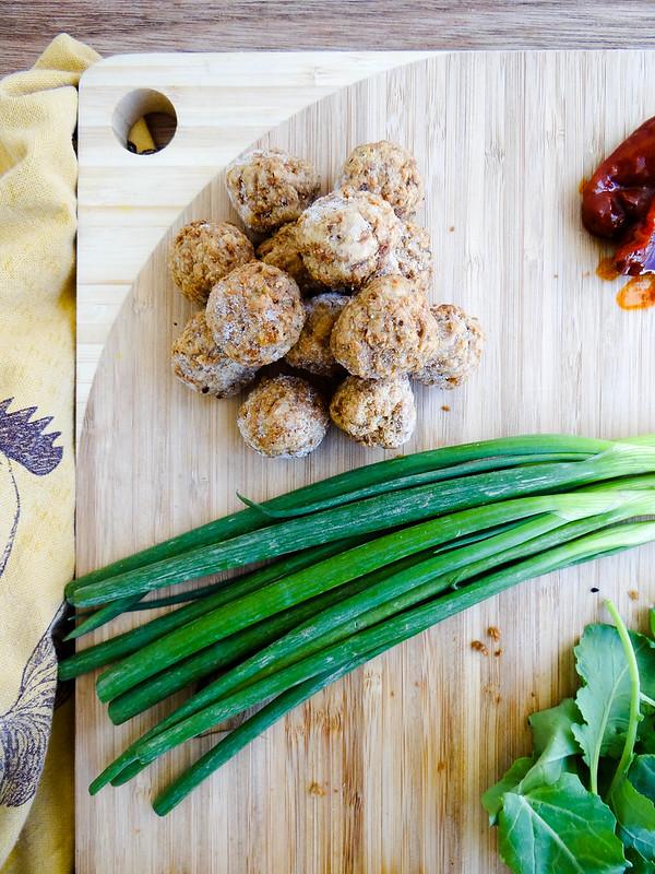 Mini Grinders // Maple Chipotle Meatballs