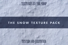 The snow texture pack!
