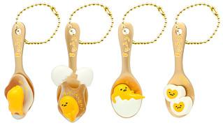 要被吃掉啦~看起來超好吃的「蛋黃哥」湯匙吊飾