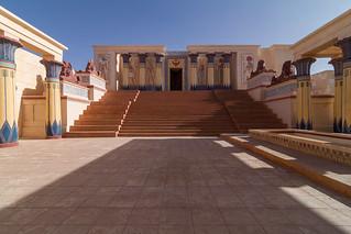 Atlas Studios képe. maroc ouarzazate astérixetobélixmissioncléopâtre ucpaoasisdudades studioscinémaatlas