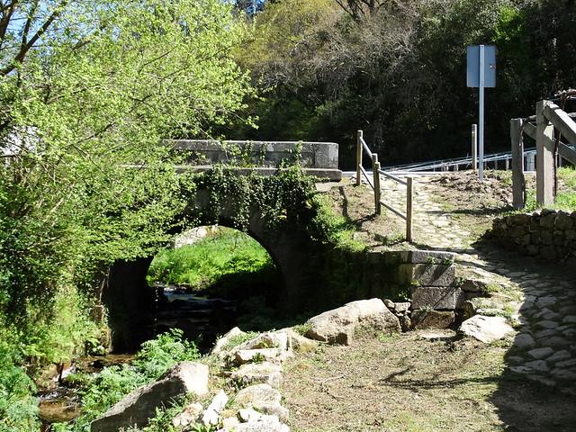 Puente en el PR-G 172 Ruta do río Chanca