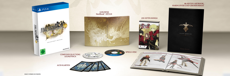 Final Fantasy Type-0 HD Collectors Edition