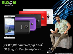 Bloom Smartphones As We All Love To Keep Loads Of Stuff In Our Smartphones