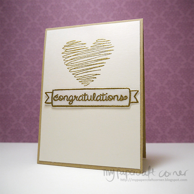 Card #322 - Congratulations