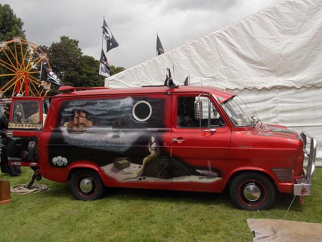 1977 Ford Transit Mk. I custom van 'Queen Ann's Revenge'