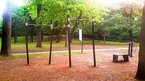 Calisthenics Park in Montreal