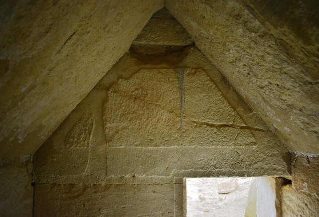 Inside the burial chamber, Tomb 3