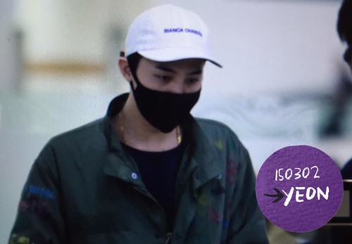 G-Dragon - Gimpo Airport - 02mar2015 - J_withG - 02