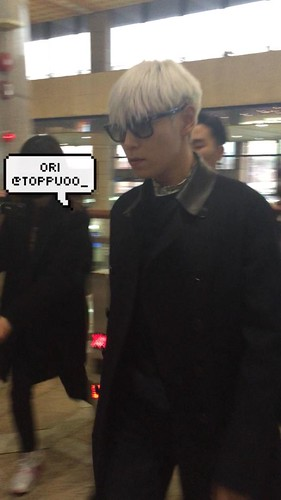 Big Bang - Gimpo Airport - 15jan2015 - TOP - Toppuoo_ - 01