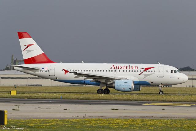 Austrian Airlines A319-100 OE-LDD