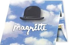15 MAGRITTE  CARNET plié