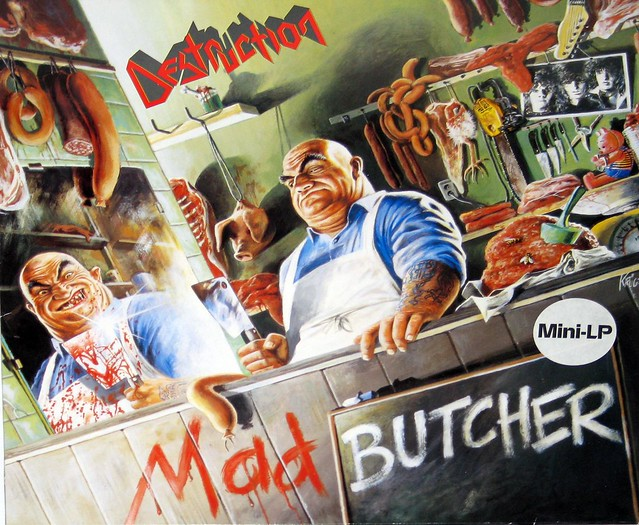 "Destruction Mad Butcher 12"" Mini-LP"