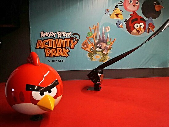 World's largest Angry Birds Activity Park in Vuokatti