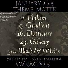 #WNAC2015 January / Matte