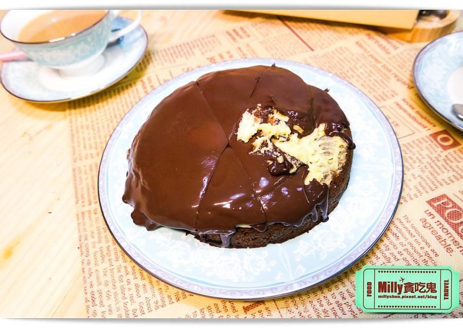 樂樂甜點超濃生巧克力布朗尼蛋糕0004