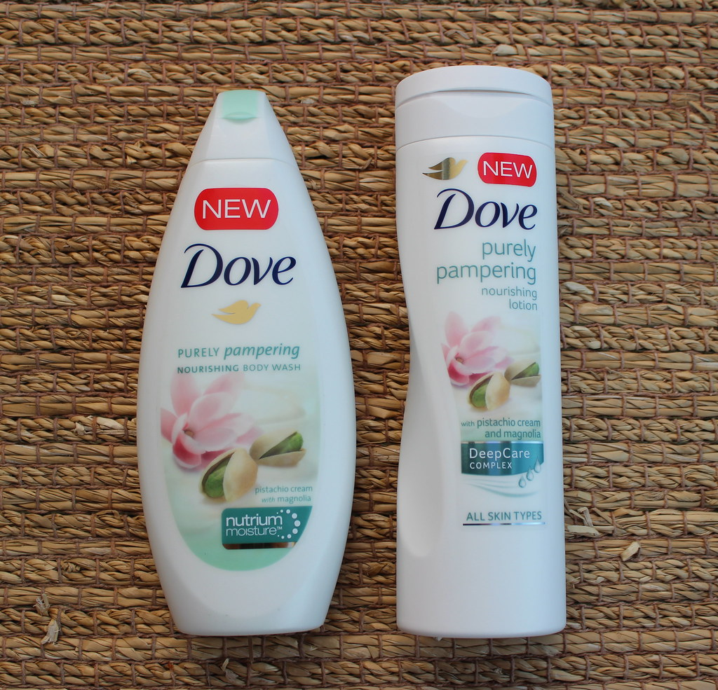 Dove Purely Pampering Pistachio Cream and Magnolia