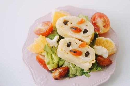 Chicky Tamagoyaki Bento Salad