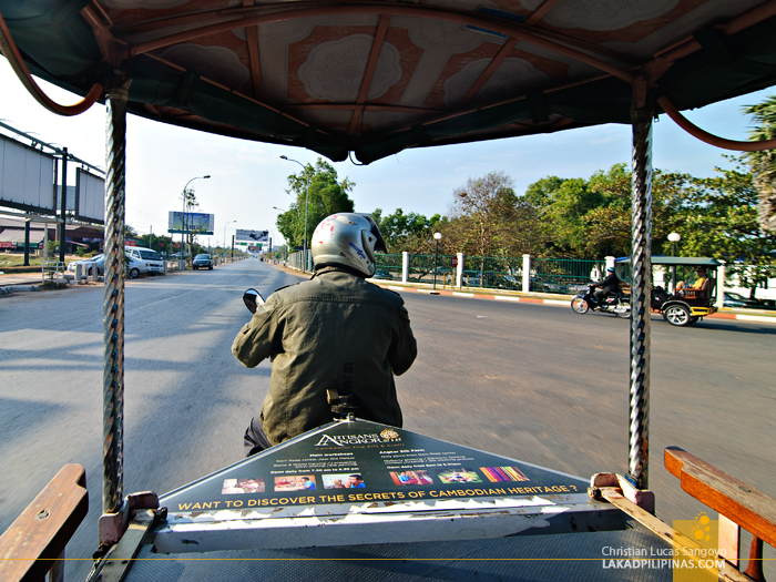 Tuk Tuk Ride to Angkor Tropical Resort