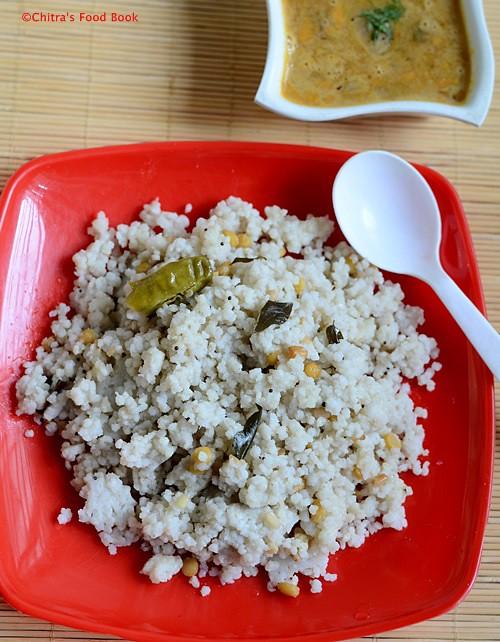 Kuthiravali upma recipe