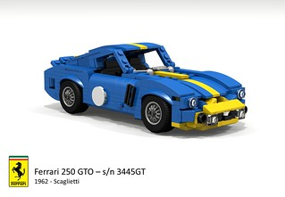 Ferrari 250 GTO Berlinetta s/n 3445GT (1962 - Scaglietti)