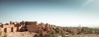 Saharan landscape