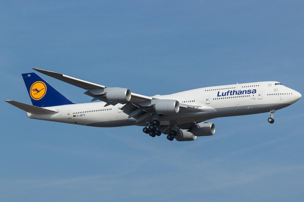 D-ABYS - B748 - Lufthansa