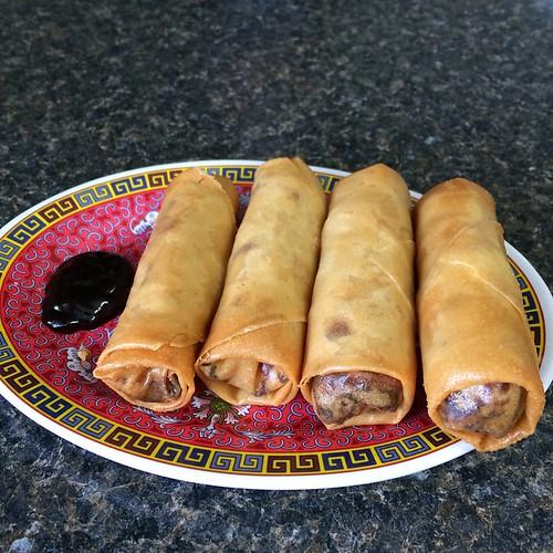 Spring rolls #yegfood