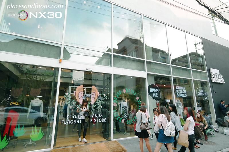 hongdae style nanda flagship store outlet