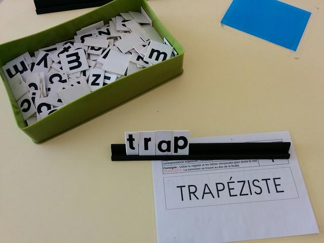 Correspondance majuscule - minuscule les mots du cirque