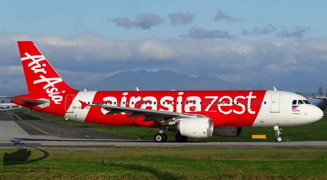 Air Asia Zest A320 RP-C8970