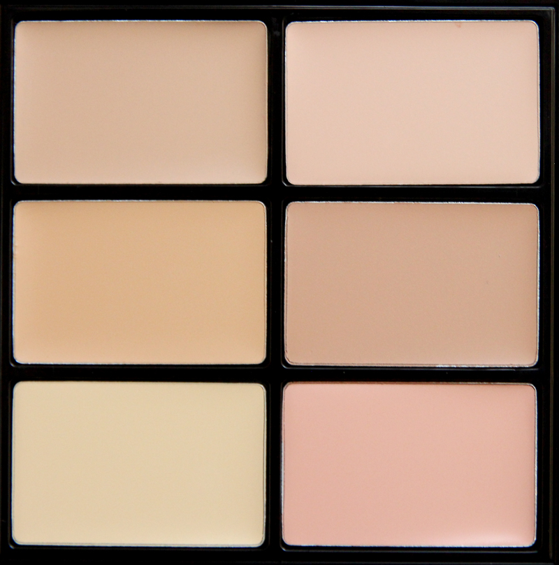 MAC light studio conceal and correct palette2
