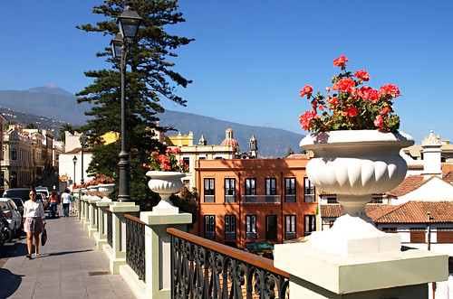 La Orotava and Mount Teide, Tenerife