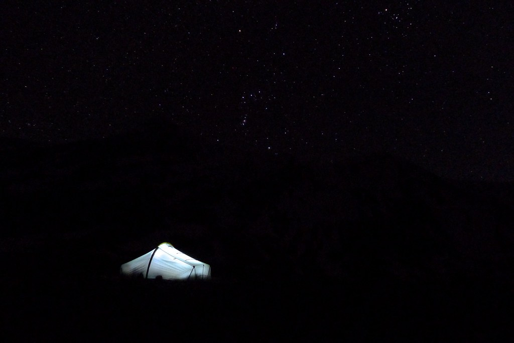 Wild Camp and Orion
