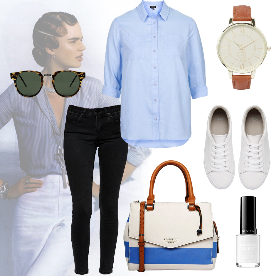 How to wear t shirt and jeans