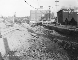 South Lake Union regrade, 1914