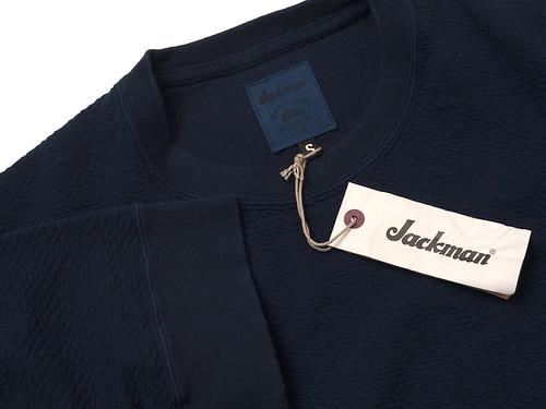 Jackman / JM7825 Short-Sleeve Indigo Shirt