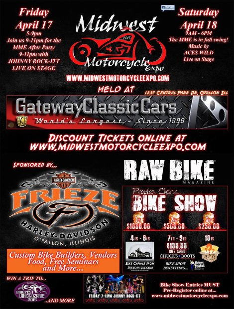 Midwest Motorcycle Expo 4-17, 4-18-15