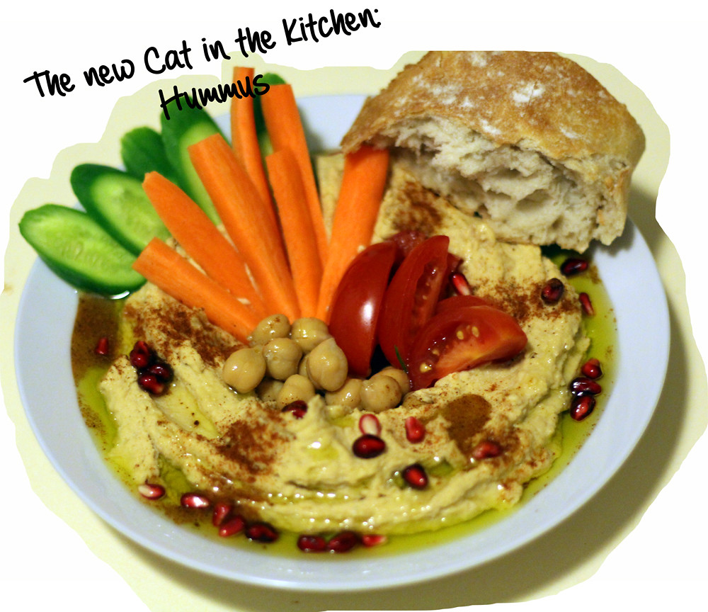 the new cat in the kitchen hummus smooth and simple. Black Bedroom Furniture Sets. Home Design Ideas