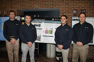 Heat Recovery Steam Generator Improvement Team posing with poster