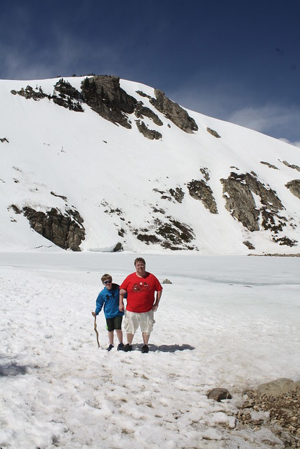 Hike to St. Mary Glacier