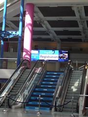 The ICC Birmingham - escalators - BSAVA Congress - What is your problem?