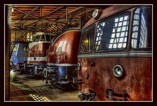 Berlin - Deutsches Technikmuseum Berlin - motive power depot 09