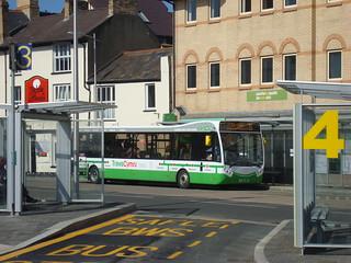 TrawsCymru T5 Optare MetroCity in Aberystwyth